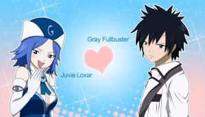 Juvia - Gray by xxSamChan