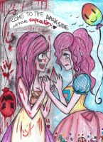 come to the dark side-pinkamena,cupcakes by NENEBUBBLEELOVER