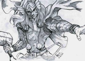 Thor by WilliamGRezende