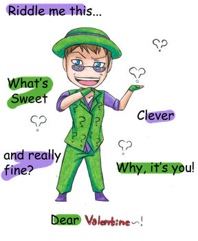 Riddle me Valentine by Zommbay
