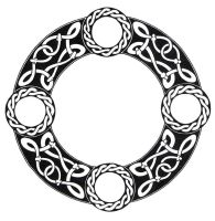 Scandinavian Knot Circle by ppunker