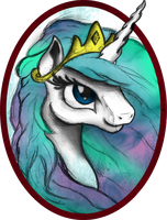 Celestia Portrait by AncientOwl
