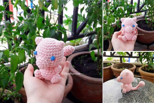 Mew contest entry by NVkatherine