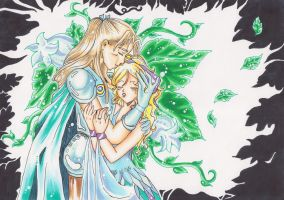 Leroy and Shayla ~ The tragic Flowers of Diorre by AshuraG