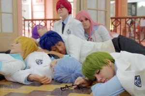 Kiseki no Sedai dreaming by marcychan