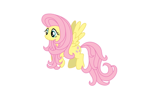 Fluttershy Vector by Arguin