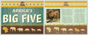 Africas Big Five Microsite by SaraChristensen