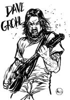 Dave Grohl FOO FIGHTERS by Paterdixit