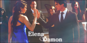 Elena and Damon by Bellezza-di-Acqua
