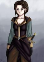 Grown-Up Arya by yryahuln