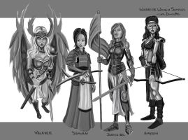 Rutten-warrior-women2 by LyleDoucetteArt