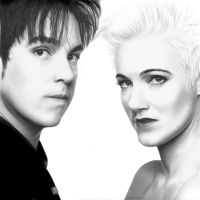 Roxette drawing by guillecr