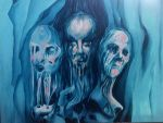 three heads by tuesdayswomen
