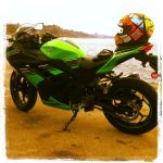 Kawasaki Ninja 300 on PCH by wetwork777