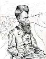 Civil War general Francis Preston Blair Jr. by Caricature80