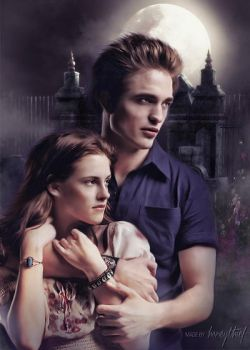 Edward and Bella by katerinakh