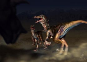 [Practice] Velociraptor Composited by noei1984