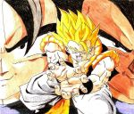 Rebirth of Fusion: Goku and Vegeta by ChronicleArtist