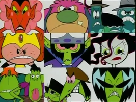 PPG The Bad Guys Wallpaper by TheWolfBunny