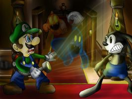 Luigis mansion by Lavilovelight