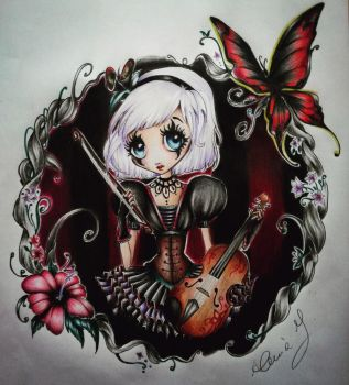Gothic but..cute Doll x3 by ColdEver