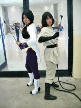Elisabeth Blanctorche N Whip- THE KING OF FIGHTERS by IzaShInIgAmI