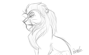 Leader Of The Lion Guard by RedTheLioness