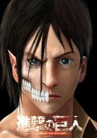Eren Jaeger Titan by doneplay