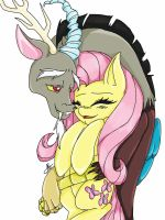 My Little Fluttershy by AnglaFireFlare