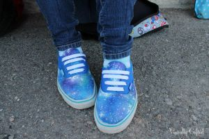 Galaxy Shoes~ by PinkMandarin