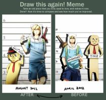 Improvement meme by Ask-Awesome-Finn