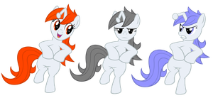 Reddit party ponies by Stabzor