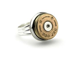 Artillery Ring - Military Ring - Bullet Ring by IndustrialSwank