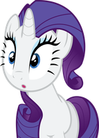 Rarity Vector by FlawlessTea