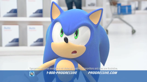 Progressive Insurance - Sonic by Hinata70756