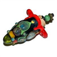 Dogon Lampworked Glass Stash by copperrein