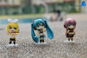Vocaloid RQ Set Black 2 by ILICarrieDoll
