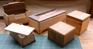 wooden boxes by carvenaked