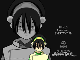 Toph wallpi by Jeff2psyco