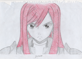 Erza Scarlet-Fairy Tail by YokoTail