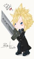 Chibi Cloud by Komi-xi