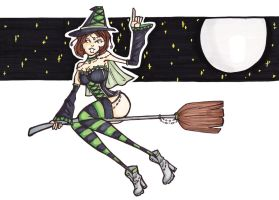 Witch by LadyAstrogah