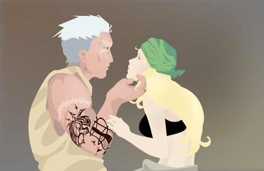 scar and winry - WIP by great-thrones