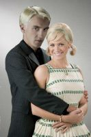 Draco Malfoy And Amber Von. Tussle by SYFYNUT