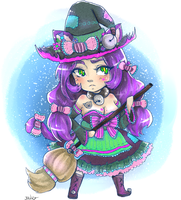 Little Cat Witch by Jaskierka
