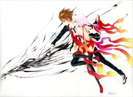 Guilty Crown by TchuDakuChipits