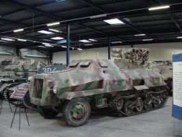 Half-track World War Two by Captain-Sweden