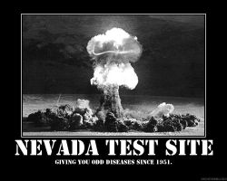 Nevada test site by 4WD
