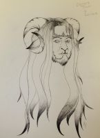 Serious Faun is Serious by DailyBird