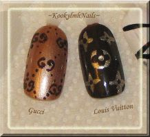 Purse Brand Nails by KookylmhNails